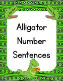 Alligator Number Sentences
