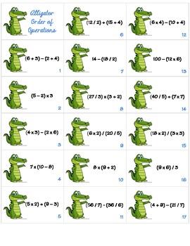 Alligator Order of Operations