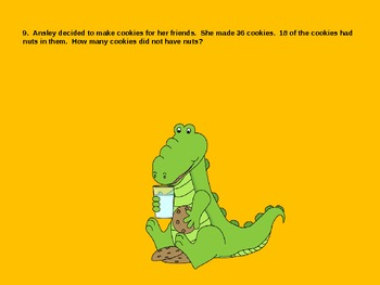 Alligator Problem Solving PowerPoint Game