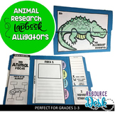 Alligator Research Project - A Zoo Animal Research Lapbook