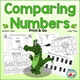 Greater Than Less Than*Comparing Numbers*Printable or Digital/ Remote Learning
