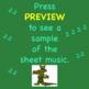 Alligator Round Warm-up ♫ Sheet Music