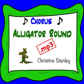 Alligator Round .mp3 ♫  Sing-a-long Accompaniment Trax