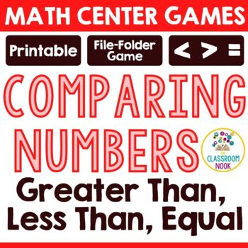 Alligator SLAP! {A Game for Comparing Numbers}