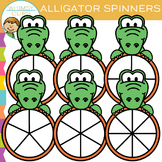 Alligator Spinners Clip Art