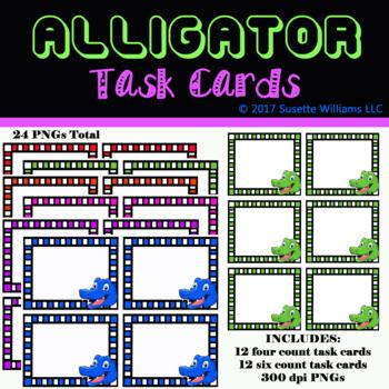 Alligator Task Cards