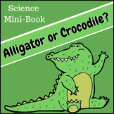 Alligator or Crocodile Science Mini-Book