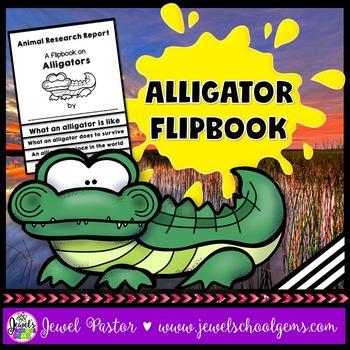 Alligator Science Activities (Alligator Research Flipbook)