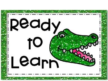 Alligators Behavior Clip Chart
