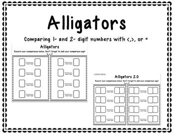 Alligators - Comparing Numbers
