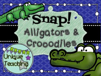 Alligators & Crocodiles - Informational Text