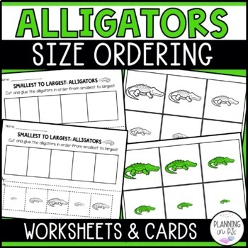 Alligators - From Smallest to Largest