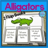 Alligators Writing Flap Books and Fast Facts Graphic Organizers!