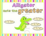 Alligreater the Alligator - Greater, Less than and Equal kit (number comparison)