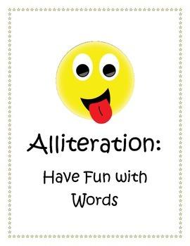 Free Alliteration Mini-Lesson Pack
