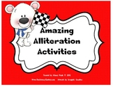 Alliteration Activities