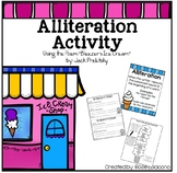 Alliteration Activity using Bleezer's Ice Cream