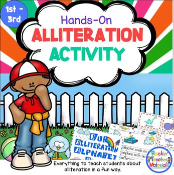 Alliteration Alive-Bringing Alliteration to Life for Young Children