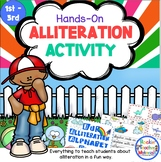 Alliteration Hands-On Activity to Bring Alliteration to Life for Young Children