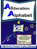 Alliteration Alphabet & Fun with Fonts—The whole nine yards!