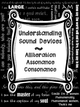 Alliteration, Assonance, Consonance: Sound Devices in Poetry for Secondary