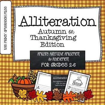 Alliteration: Autumn or Thanksgiving Edition