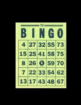 Alliteration Bingo