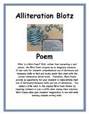 Alliteration Blotz Poem