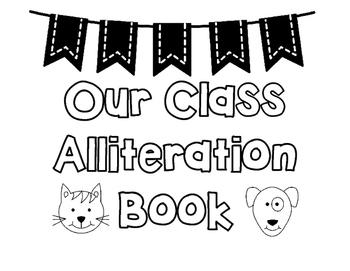 Alliteration Book