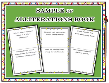 Alliteration Book SAMPLE