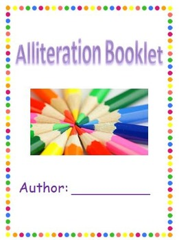 Alliteration Booklet