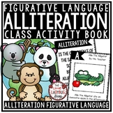 Alliteration Activities with Figurative Language Worksheet
