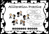 NEW: Alliteration Chatter Cards