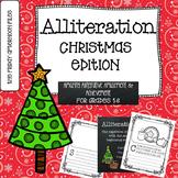 Alliteration: Christmas Edition