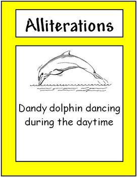 Alliteration Class Activity