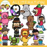 Alliteration Clip Art - Figurative Language Clip Art