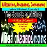 Alliteration, Consonance, Assonance PowerPoint Lessons