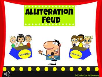 Alliteration Feud Powerpoint Game