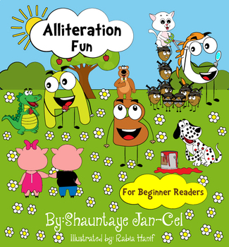 Alliteration Fun ABC Style for Beginner Readers
