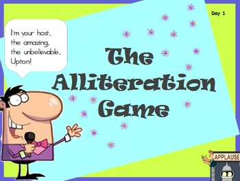 Alliteration Game
