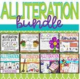 Alliteration Center Activity Bundle - 8 center activities