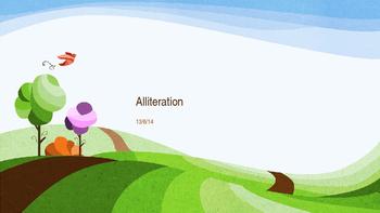 Alliteration Lesson Plan