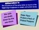 Alliteration Lesson Presentation (Figurative Language)