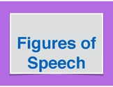Alliteration Lessons - Figures of Speech