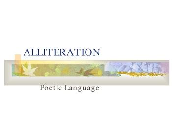 Alliteration Mini-Lesson