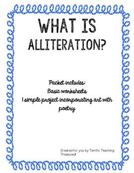 Alliteration Packet