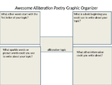 Alliteration Poetry Graphic Organizer