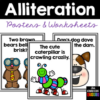 Figurative Language Anchor Chart Illustrated Posters