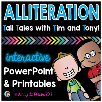 Alliteration PowerPoint and Worksheets Figurative Language