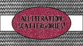 Alliteration Scattergories {A Fun Common Core Activity}
